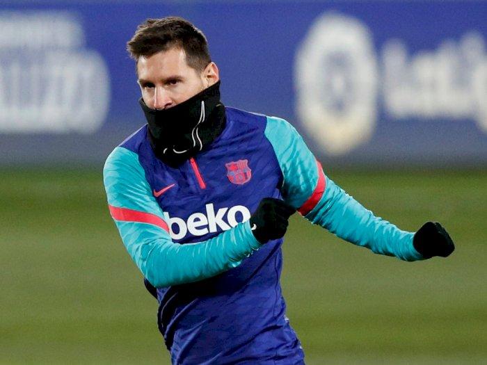 Barcelona Buka-bukaan Tak Bisa Lagi Bayar Gaji Messi yang Selangit