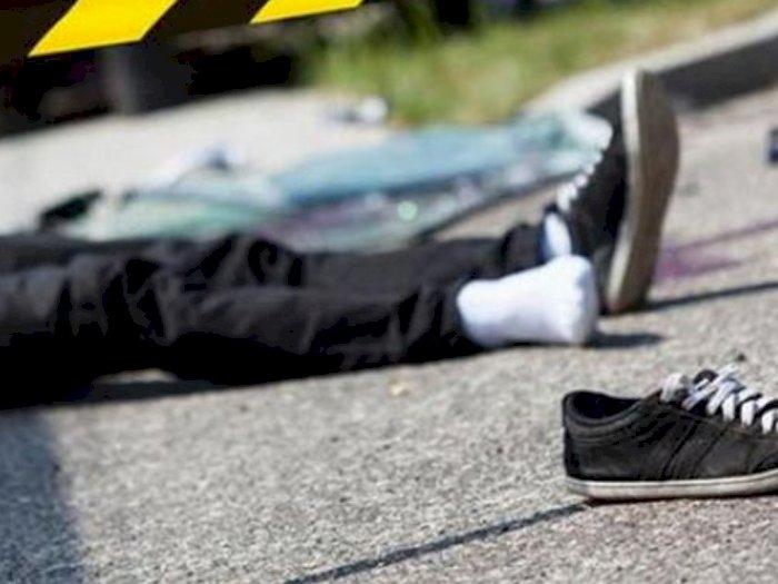 Korban Diduga Tabrak Lari di Medan Sulit Dimintai Keterangan, Ada Tuak Tergantung di Motor