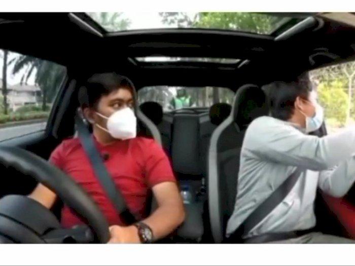 Driver Ojol Kabur Setelah Menabrak Mobil Berhenti Saat Bagi Sedekah, Lantaran Mainin HP