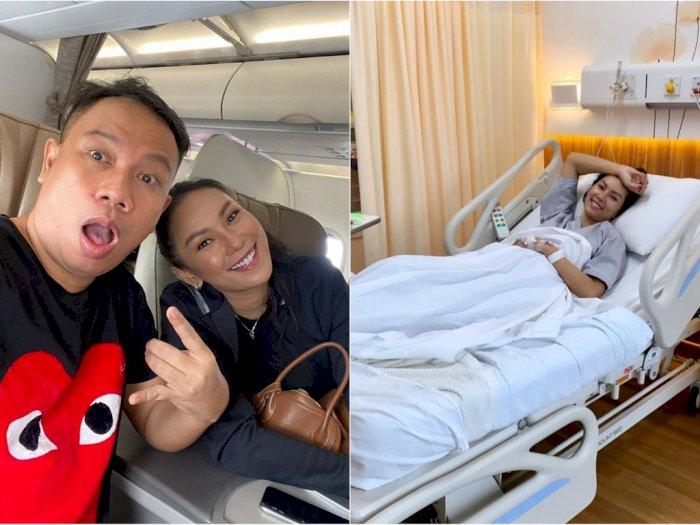 Kalina Ocktaranny Dirawat di Rumah Sakit, Vicky Prasetyo: Semangat, Kan Mau Jadi Pengantin