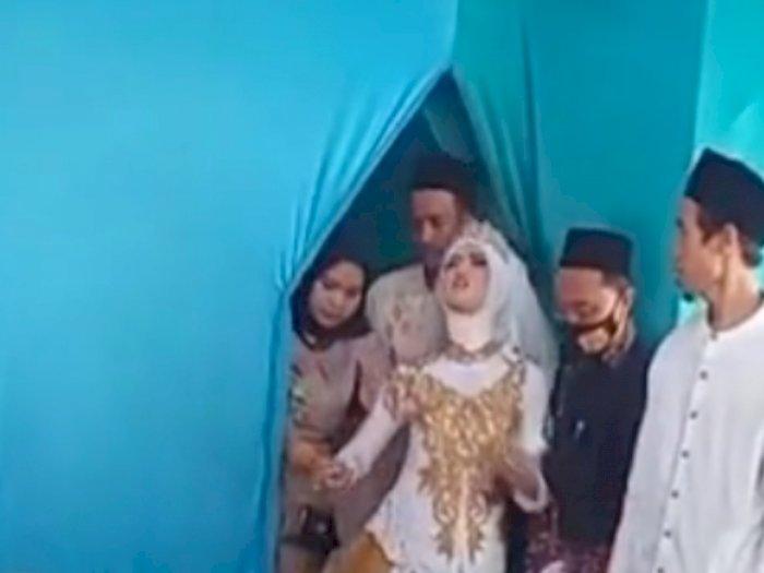Viral Pengantin Wanita Pingsan Jelang Akad, Reaksi Pengantin Pria Bikin Netizen Heran