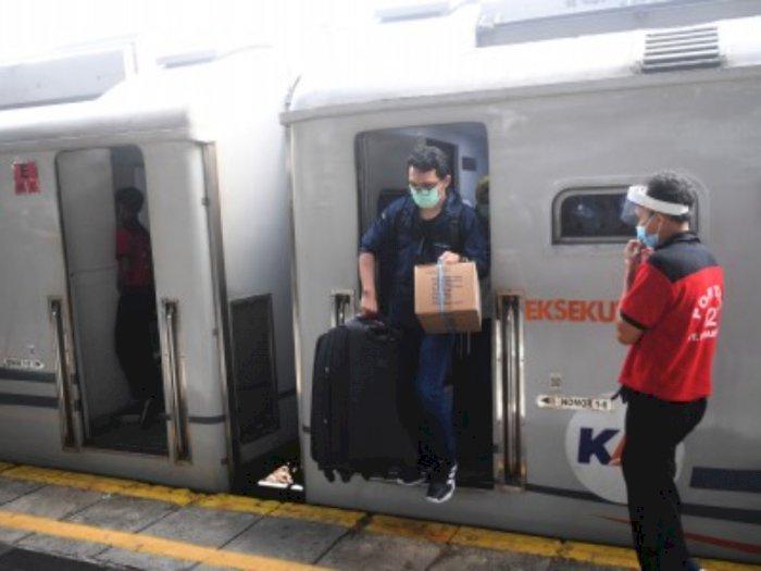 Sempat Terhenti Akibat Corona, PTKAI Kembali Operasikan Kereta Walahar Cikarang-Purwakarta
