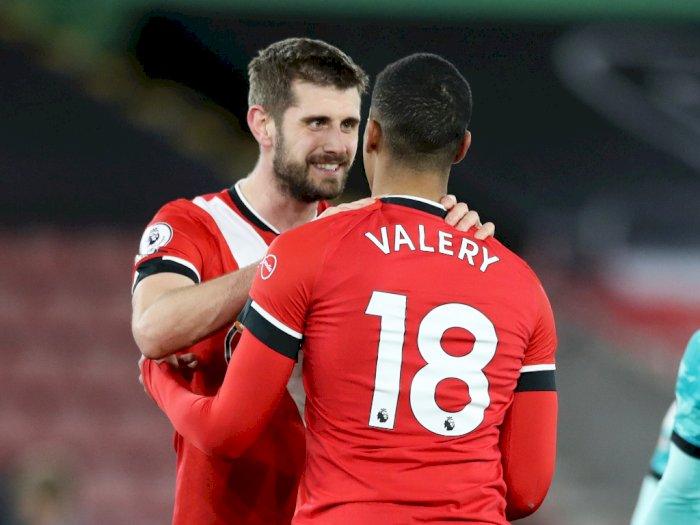 FOTO: Liga Inggris, Southampton Vs Liverpool 1-0, MU Terus Mengejar
