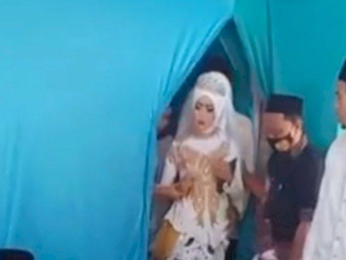 Viral Pengantin Wanita Pingsan, Netizen Salfok ke Alquran yang Dipegang