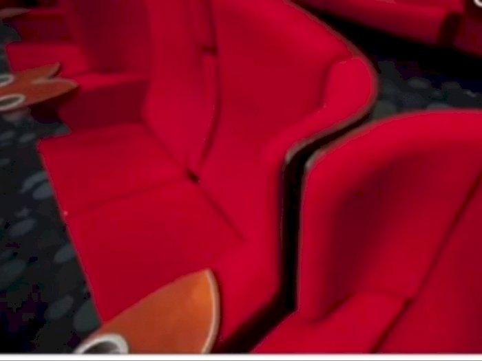 Viral Remaja Kegep Ciuman di Bioskop, Ketauan dari CCTV dan Ditegur, Malu Abis!