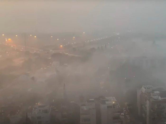 Kabut Menakutkan Serang Kawasan Israel, Bandara Setempat Ditutup Sementara