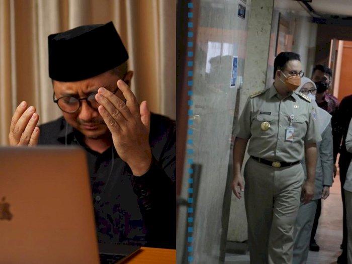Ustadz Yusuf Mansur Senang Anies Baswedan Akhirnya Ngantor Lagi: Subhanallah