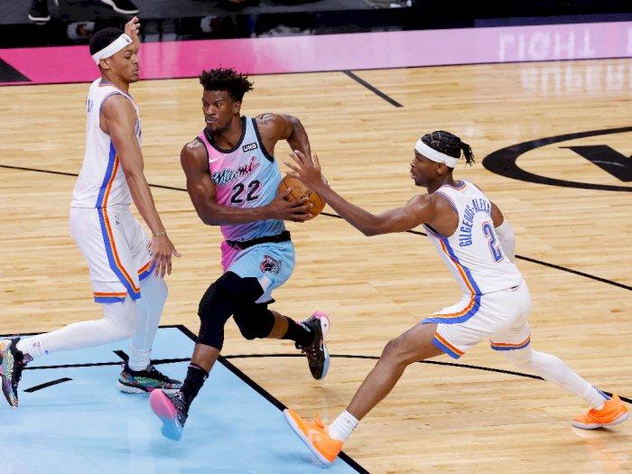 FOTO: Miami Heat vs Oklahoma City Thunder 118-90