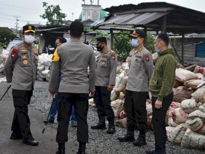 Markas Polisi di Kalimantan Barat Terbakar, Dibangun Sejak 1988