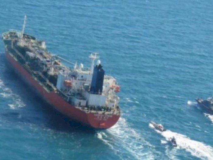 Iran Tahan Kapal Tanker Korsel Karena Langgar Aturan, ABK Indonesia Ikut Ditahan