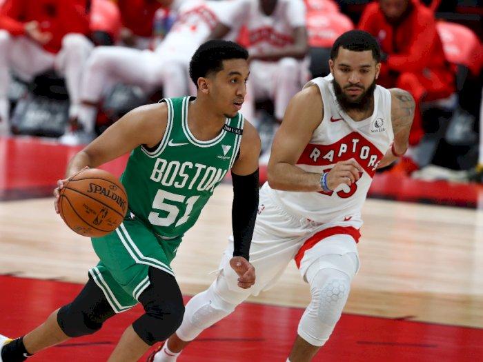 FOTO: 40 Angka Tatum Membawa Celtics Menang 126-114 Atas Raptors