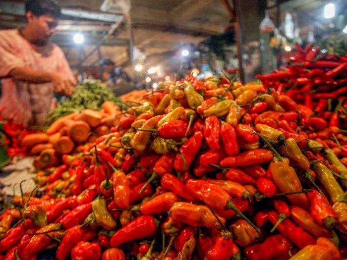 Harga Pangan Melambung Tinggi, Cabai Rawit di DKI Tembus Rp110.000 per Kg