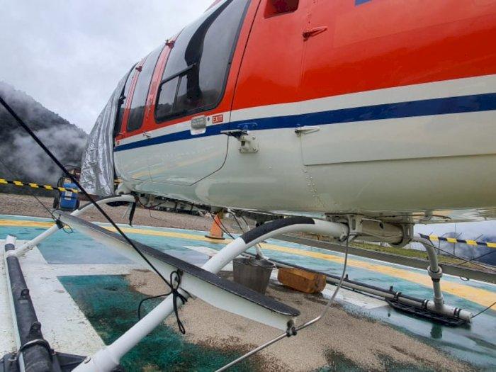 Helikopter Ditembak OTK di Papua, Polisi Pastikan Tak Ada Korban Jiwa