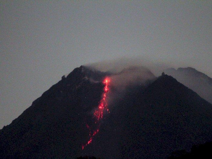 FOTO: Fase Erupsi Gunung Merapi