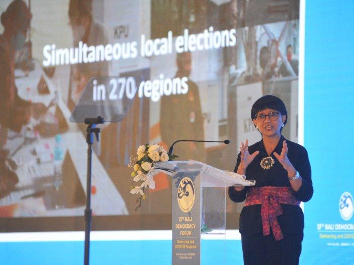 Menlu Retno Kembali Tegaskan Indonesia Tak Berniat Buka Hubungan Diplomatik dengan Israel