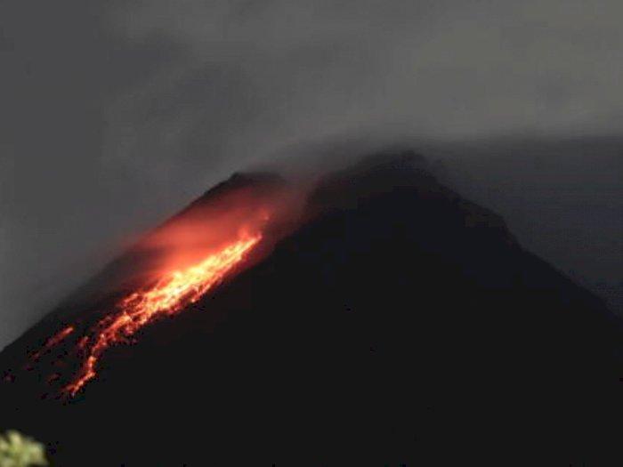 Siaga! Gunung Merapi Masuk ke Fase Erupsi, Keluarkan Lava Pijar