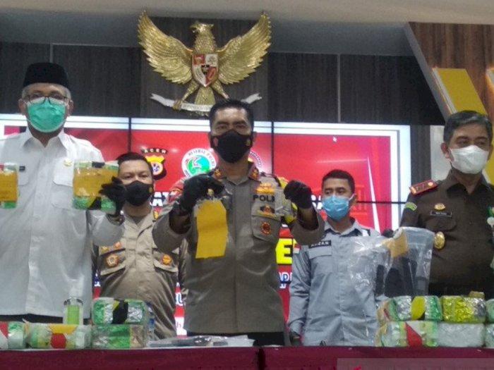 Polda Aceh Amankan 61 Kilogram Sabu dan Klaim Pelaku adalah Jaringan Narkoba Internasional