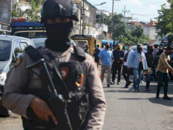 Densus 88 Tangkap 2 Teroris Jaringan JAD di Makassar