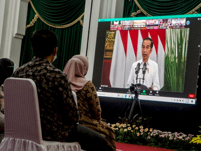 Presiden Jokowi Tanggapi Banyaknya Negara yang Lockdown