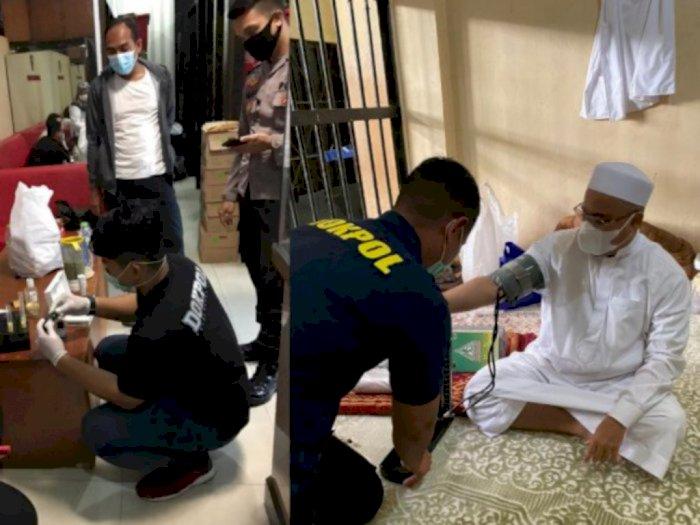 Dalam Sel Tahanan Habib Rizieq Ngaku Sesak Napas, Begini Penjelasan Polda Metro