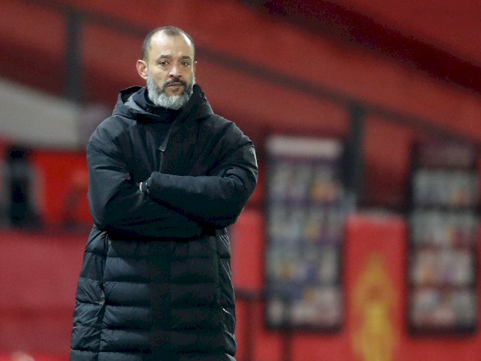 Lontarkan Kritik Pedas ke Wasit, Pelatih Wolves Nuno Espirito Dijatuhi Denda