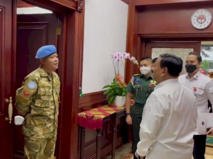 Menhan Prabowo Minta Kopral Jago 7 Bahasa Asing Menghadap, Cecar Pakai 4 Bahasa Berbeda