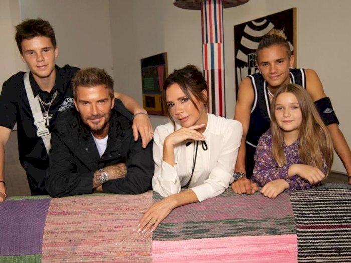 David Beckham dan Keluarga Diam-diam Bertolak ke Miami Untuk Hindari Lockdown