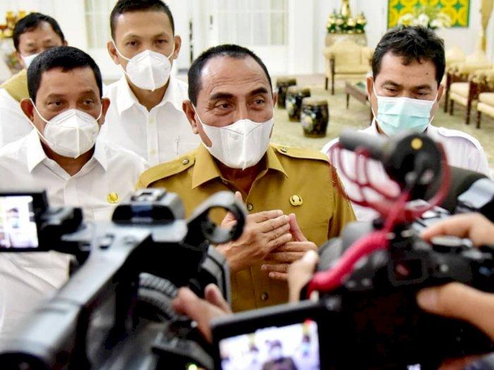 Gubernur Edy Sangat Berharap Masyarakat Sumut Tak Tolak Pelaksanaan Vaksinasi Covid-19