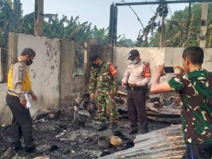 Nahas, Ibu Rumah Tangga dan Suaminya Tewas saat Rumah Mereka Dilahap Api