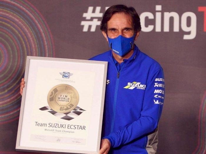 Davide Brivio Tinggalkan Tim Suzuki Ecstar di MotoGP, Berpindah ke Tim Alpine di F1?