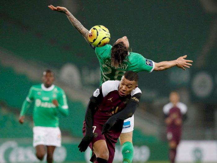 FOTO: Liga Prancis, PSG Ditahan Imbang 1-1 Oleh Saint-Etienne