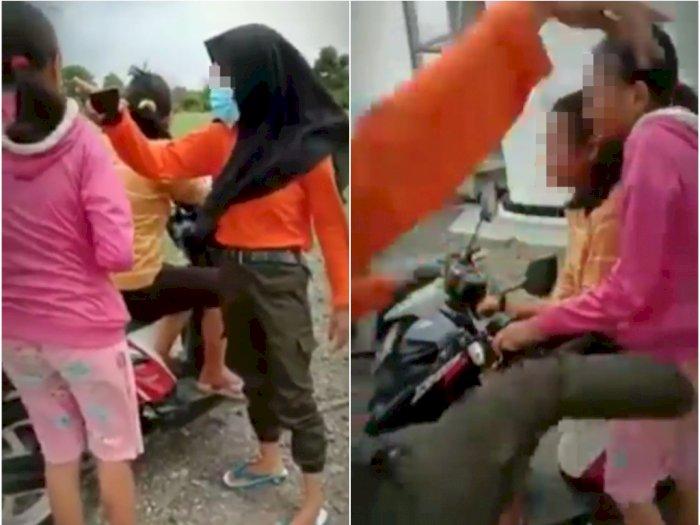Video Bullying 2 Remaja Perempuan, Menangis Dimaki dan Dipukul Teman