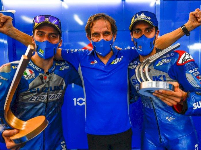 Resmi! Davide Brivio Hengkang dari Suzuki, Berlabuh ke Tim Alpine F1