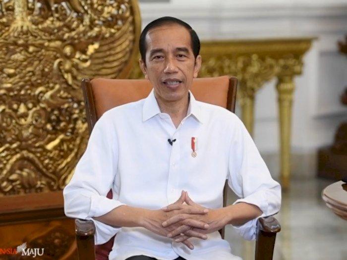 Terkait Pandemi COVID-19, Jokowi: Alhamdulillah Indonesia Tidak Sampai Lockdown