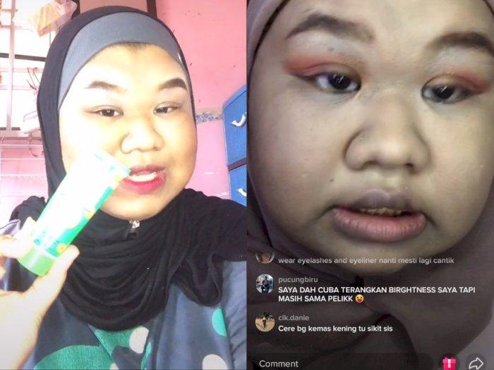 Sedih! Perempuan ini Jadi Korban Body Shaming oleh Netizen saat Live Tutorial Makeup
