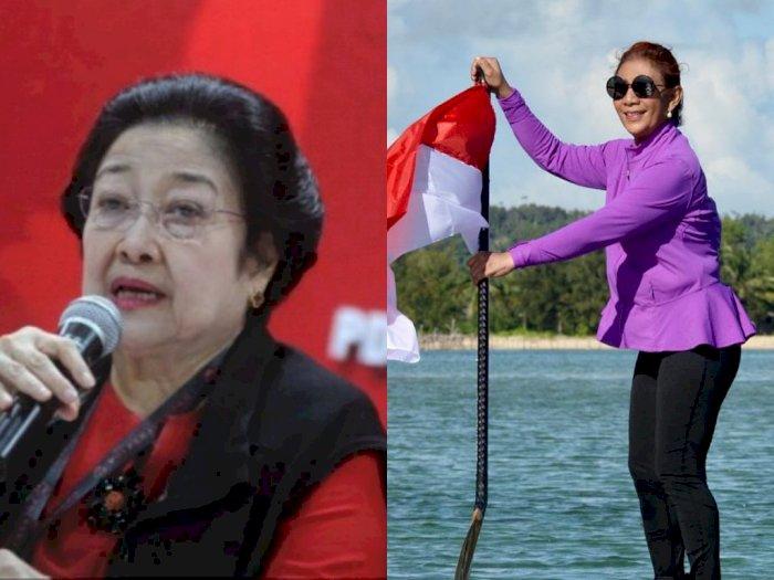Megawati Buka Suara Soal Ekspor Benih Lobster, Susi Pudjiastuti Menangis