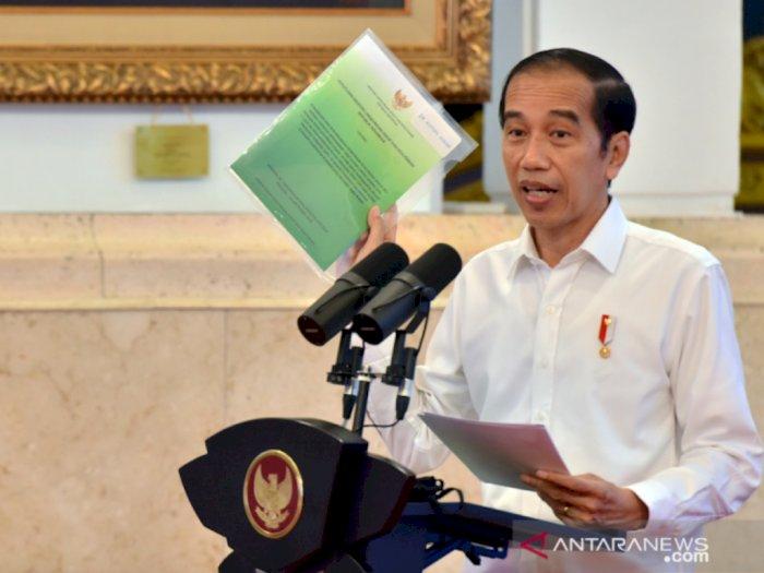 Terkait Vaksinisasi COVID-19, Presiden Jokowi: Jangan Dibayangkan yang Enggak-enggak