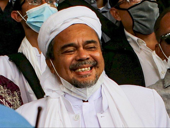 Habib Rizieq Tolak Oksigen Pemberian Polisi, Maunya Pakai Tabung Bawaan Sendiri