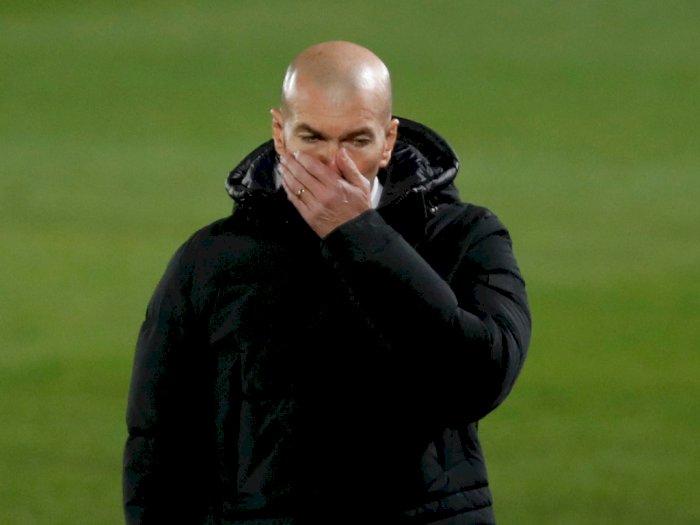 Duh, Terlibat Kontak dengan Orang Positif Covid-19, Zidane Terpaksa Isolasi Diri