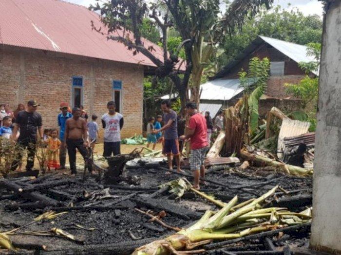 2 Motor dan 2 Rumah Hangus Terbakar di Agam, Kerugian Materi Sekitar Rp80 Juta