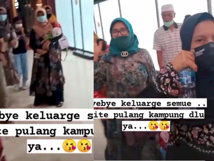 Sebelum Naik Pesawat Sriwijaya Air, Ratih Windania Sampaikan 'Bye-Bye' kepada Keluarga