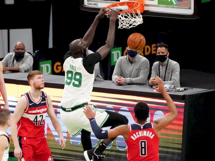 FOTO: Tatum Mencetak 32 Poin, Celtics Kalahkan Wizards 116-107