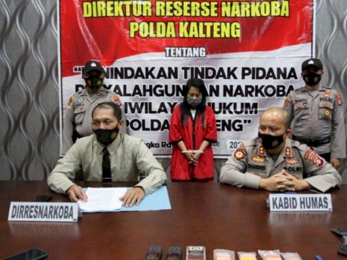 Pengedar Sabu 40,16 Gram yang Ditangkap Polda Kalteng adalah Ibu Rumah Tangga di Sampit