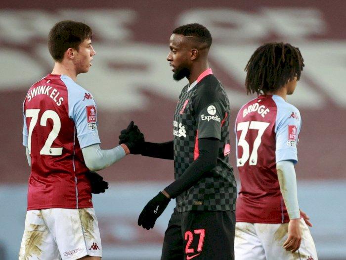 Meski Dikalahkan Liverpool di Piala FA, Tim U-23 Aston Villa Tuai Apresiasi