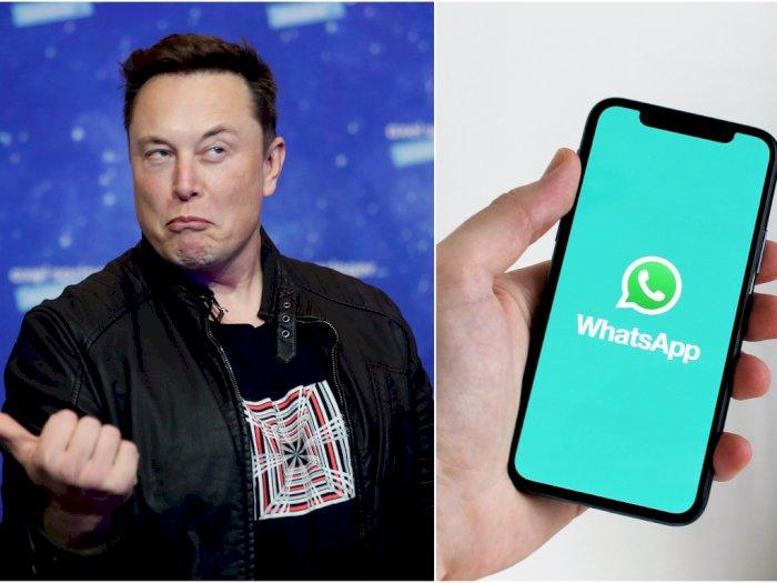 Elon Musk Ajak Publik Tinggalkan Whatsapp dan Beralih ke Aplikasi Signal