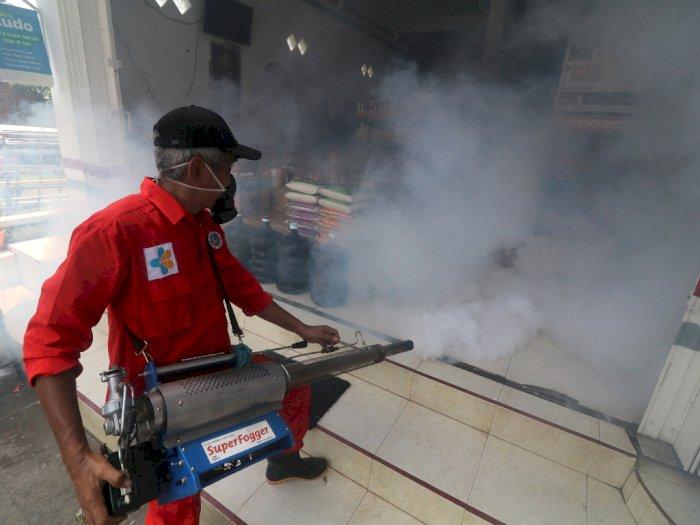 FOTO: Cegah Penyebaran Chikungunya di Kediri