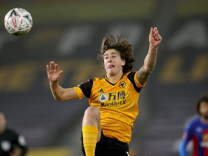 FOTO: Piala FA, Wolverhampton Menang Tipis 1-0 Atas Crystal Palace