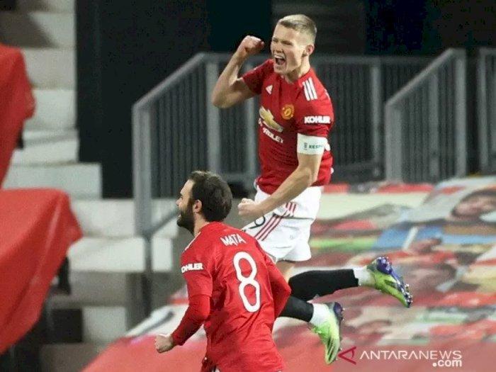 Scott McTominay Antar Manchester United Lanjut ke Putaran Keempat Piala FA