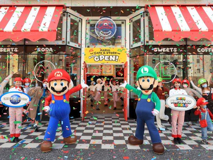 Wahana Baru Super Nintendo World Jepang akan Buka Tur Virtual Mulai 4 Februari