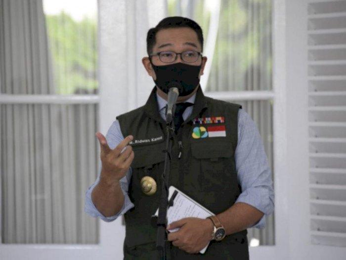 Ridwan Kamil Tegur Tenaga Medis yang Tolak Vaksinasi COVID-19 Melalui Medsos